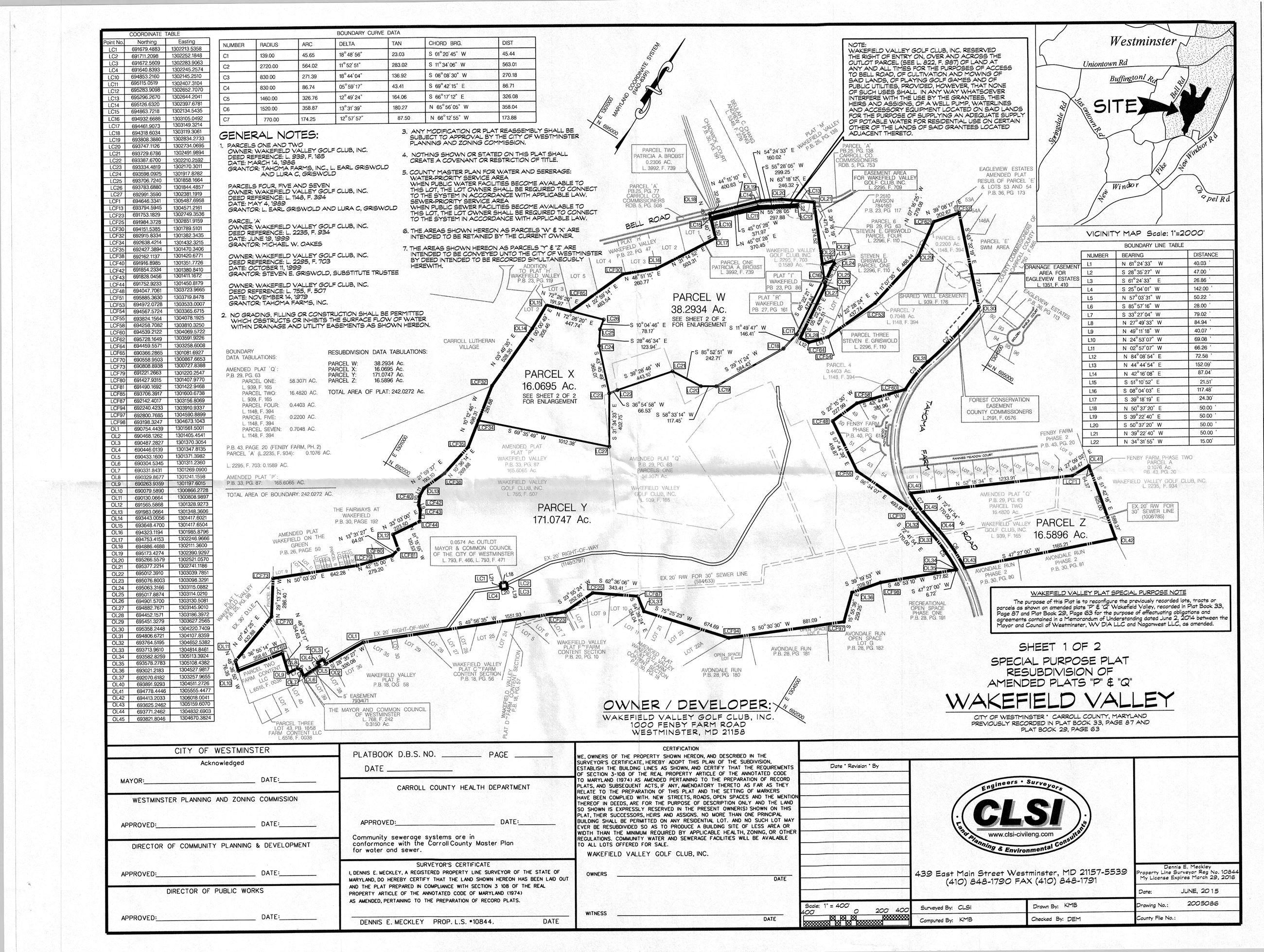 Parcel Map | MD-Westminster, MD - Official Website