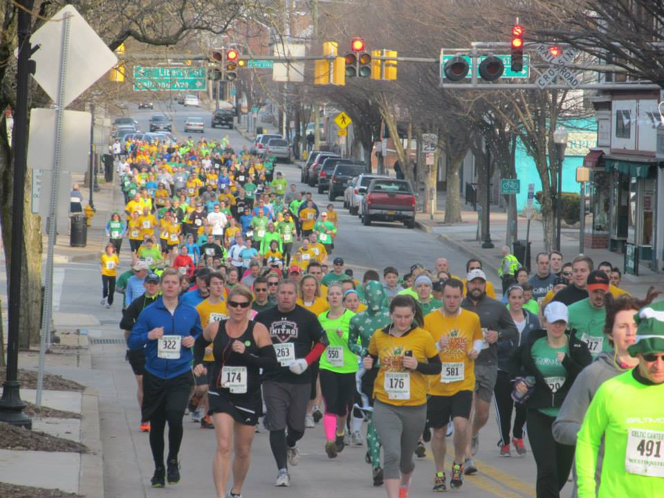 celtic canter 5k action