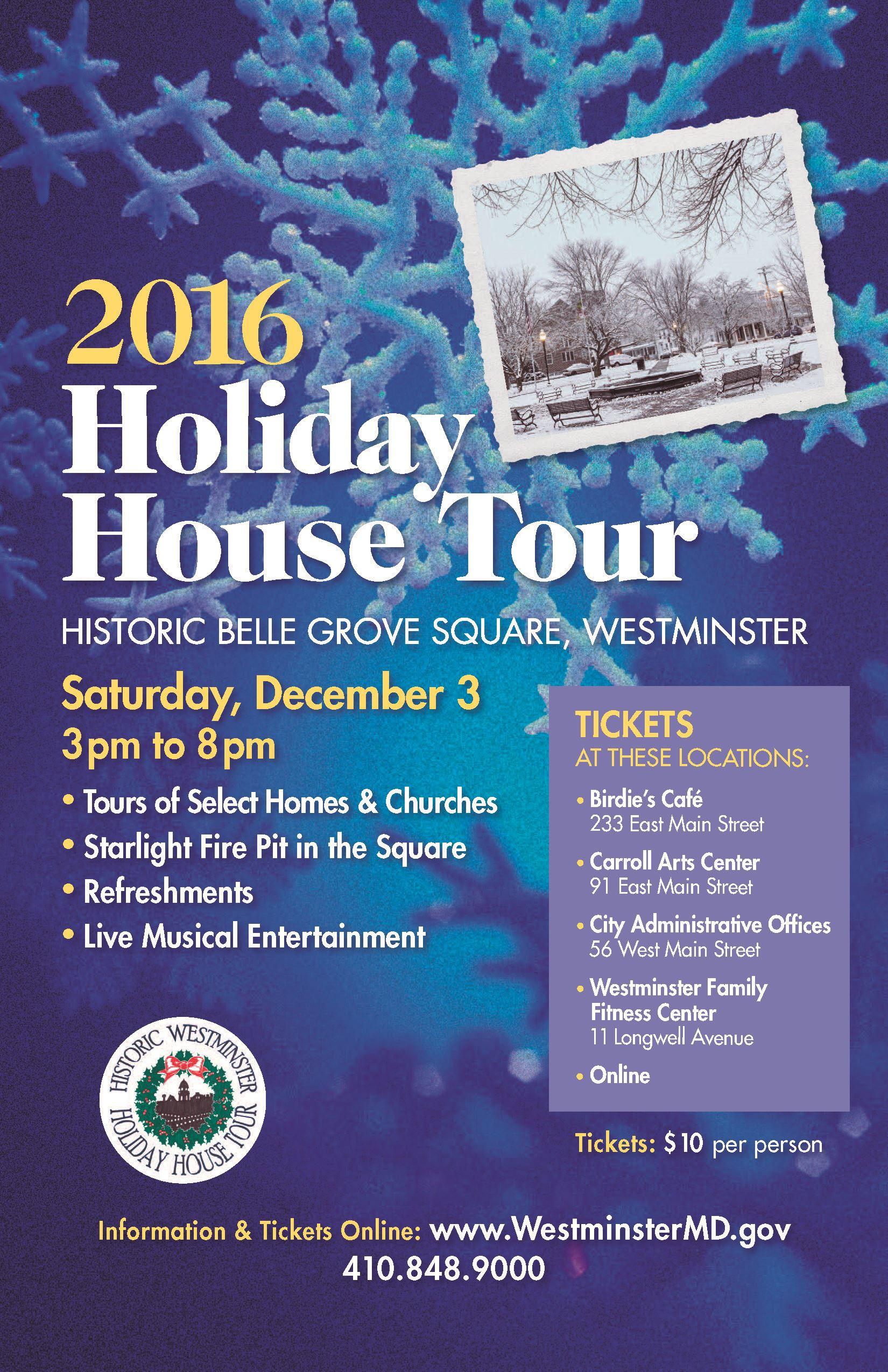 Holiday House Tour poster