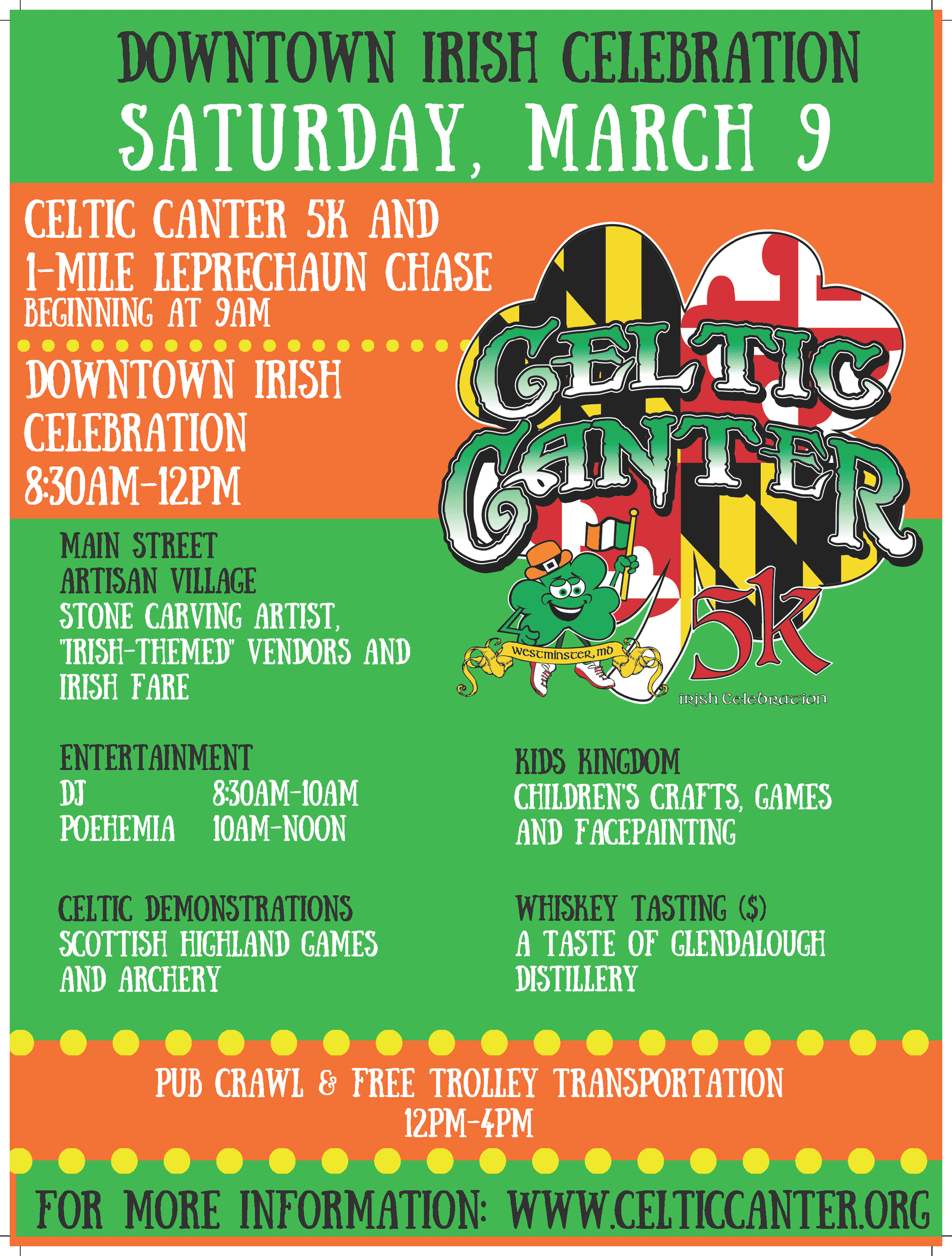2019 Celtic Canter Poster