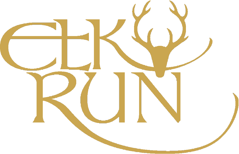 Elk Run gold logo