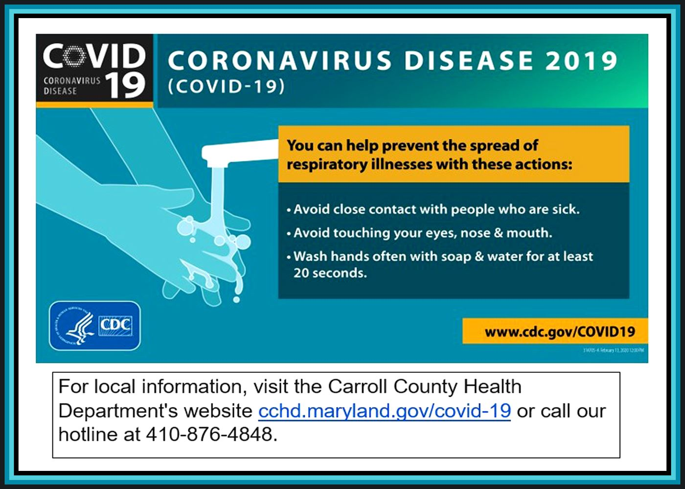 Hotline Information for COVID-19 Concerns